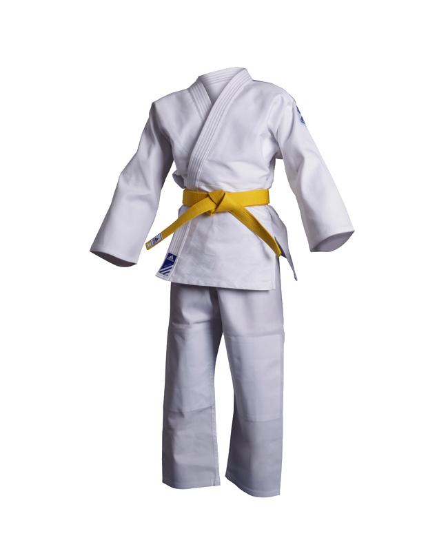 adidas J350 Judo Anzug Club 190cm weiß 190cm