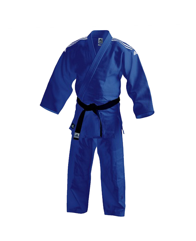 adidas J350B Judo Anzug Club 140cm blau 140cm