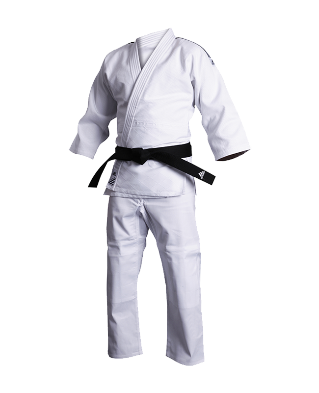 adidas J500 Judo Anzug Training 130cm weiß 130cm