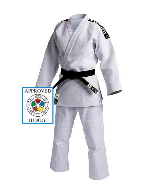 adidas J930 Champion Gi Judo Anzug weiss 150cm IJF approved 150cm