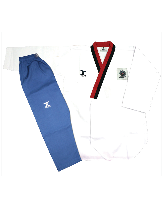 JCalicu Male Poomsae POOM Competition Diamond Uniform 180 WTF App JC-2003 180cm