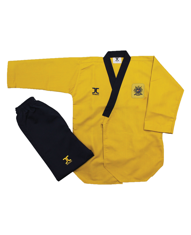 JCalicu Poomsae High Dan Competition Diamond Uniform 160 WTF Approved JC-2006 160cm