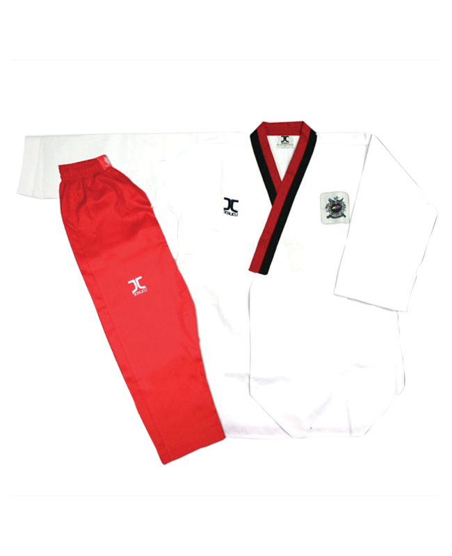 JCalicu Female * Poomsae POOM Competition Diamond Uniform 150 WTF App JC-3002 150cm