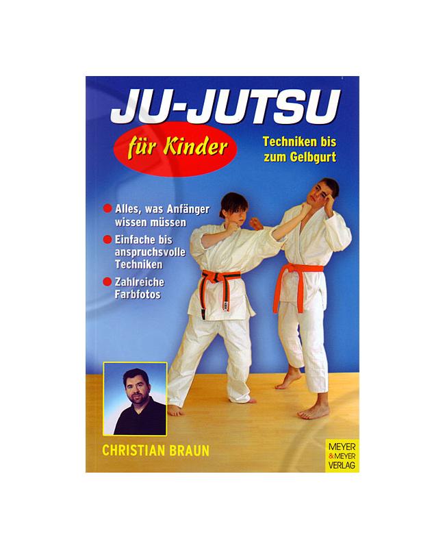 Buch, Ju-Jutsu für Kinder, Techniken bis zum Gelbgurt