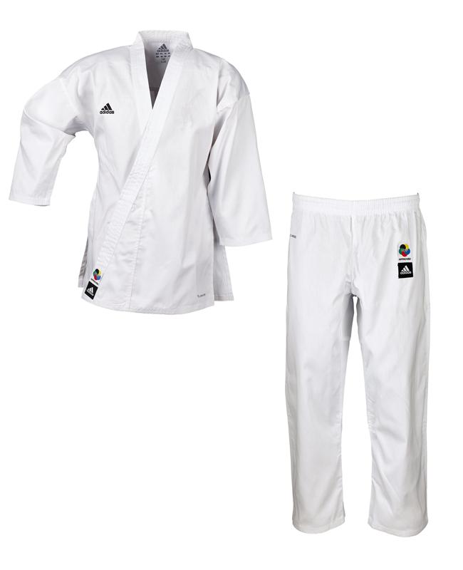 adidas Karateanzug Club Junior weiß WKF K220C
