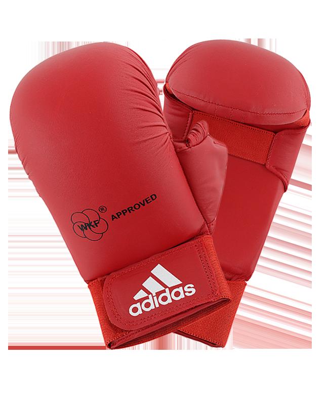 adidas Karate Faustschutz WKF + Daumen rot 661.23 XL