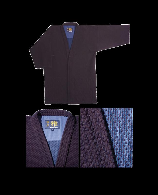Tengu Kendo Jacke indigo blue Miyabi Gokujo Jurushi blau 170cm