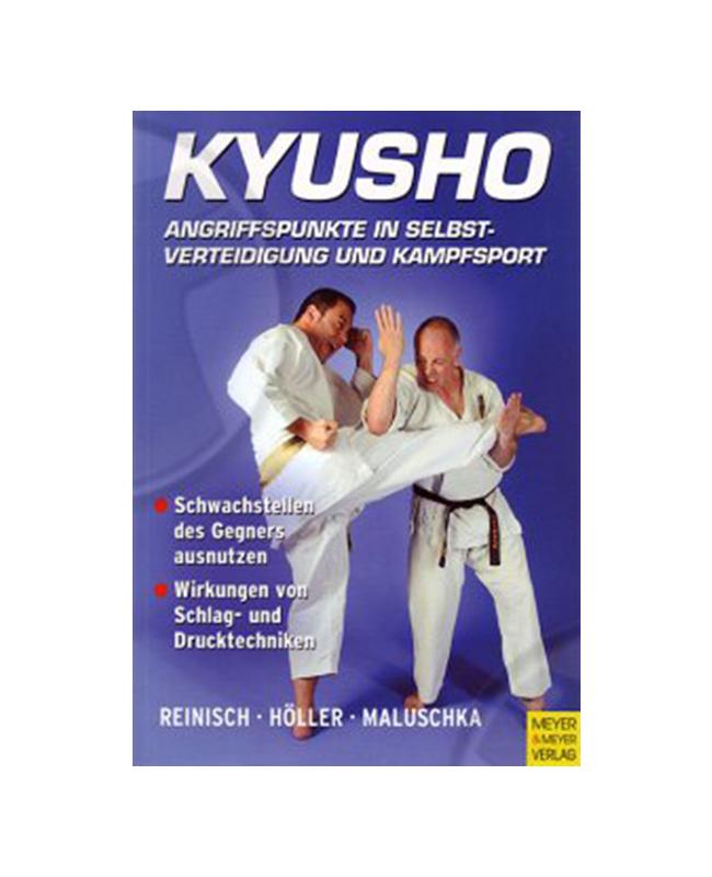 Buch, Kyusho Angriffspunkte in Selbstverteidigung und Kampfsport S. Reinisch Ver