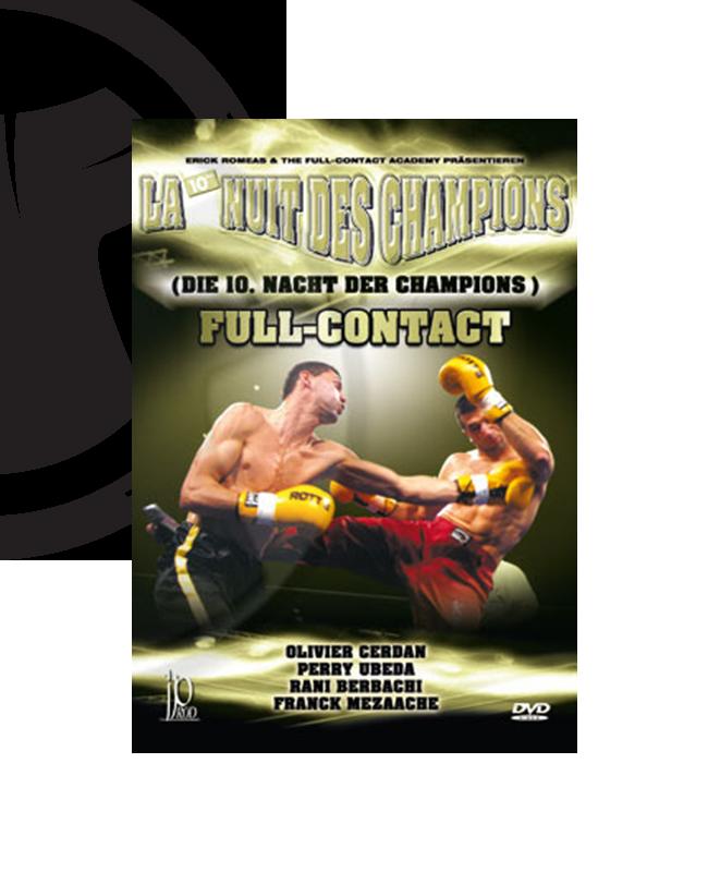 DVD, La Nuite des Champions Nr.10, Fullcontact IP 124