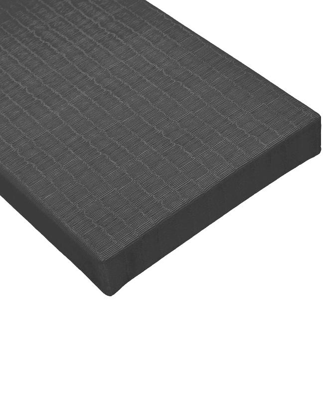 BSW Judo Matten TATAMI DELUXE IJF dunkelgrau 2x1m x 40mm 2x1m