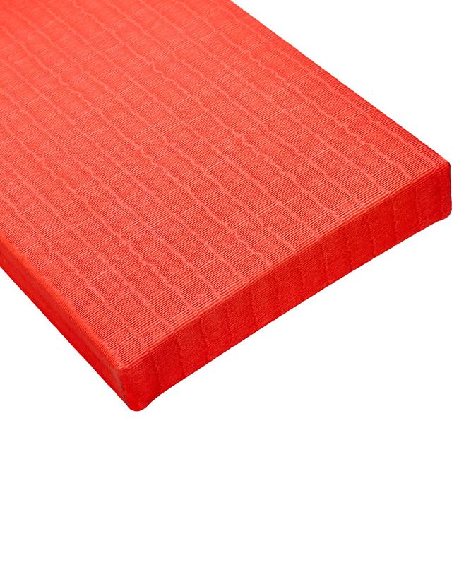 BSW Judo Matten TATAMI DELUXE IJF rot 1x1m x 40mm 1x1m