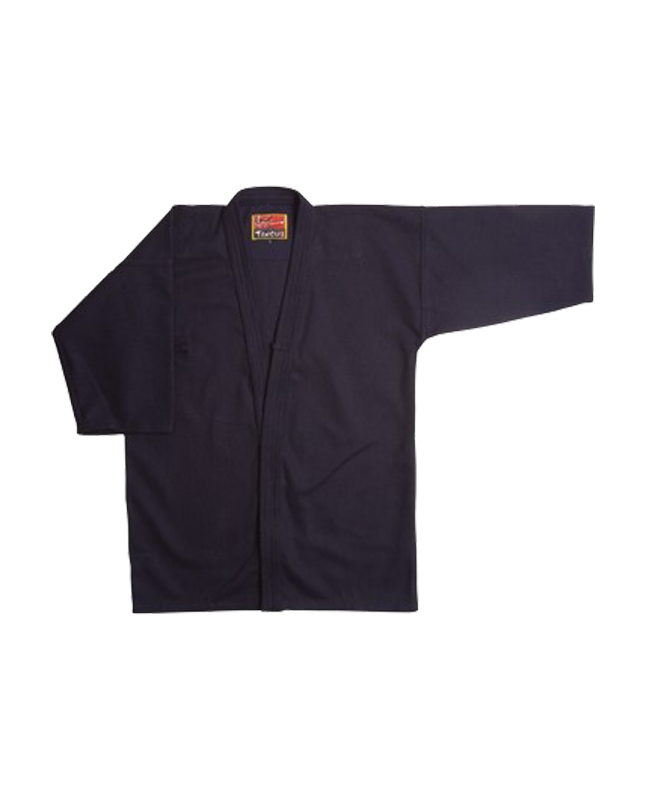 Miyabi Iaigi Cotton Natsu Zashi schwarz 180cm