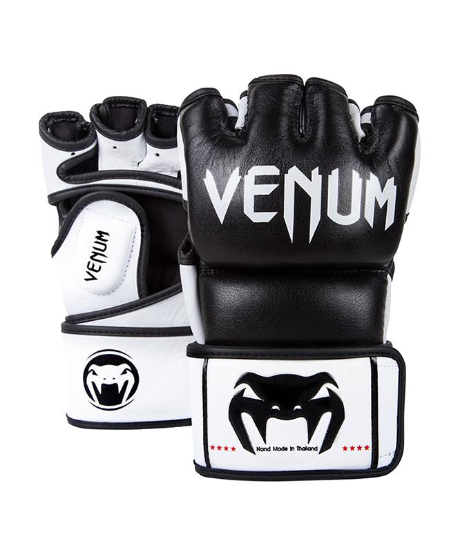 Venum Undisputed MMA Gloves schwarz Nappa Leder