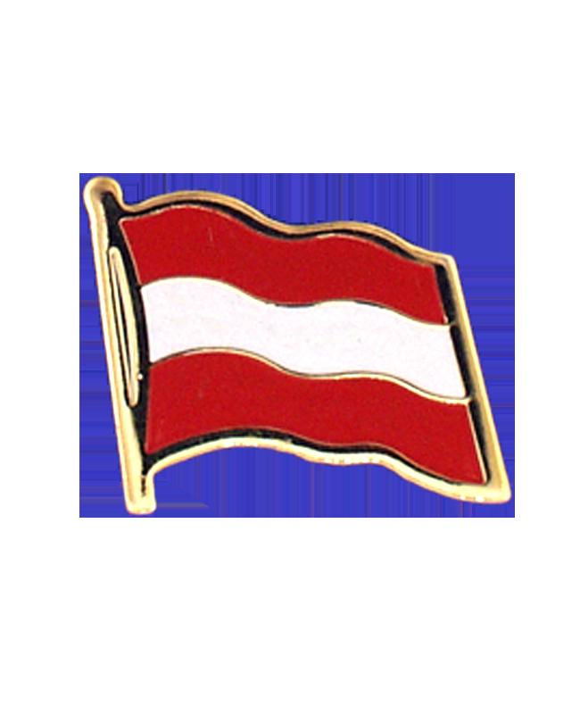 Flaggen-Pin Austria