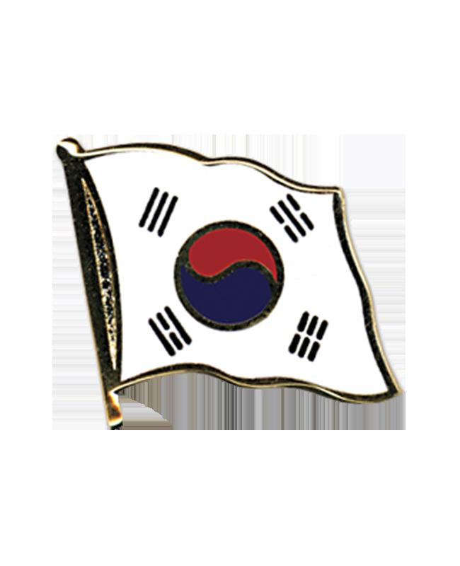 Flaggen-Pin Korea