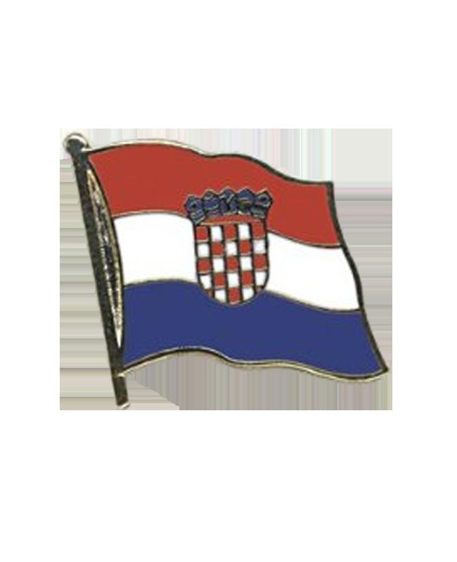 Flaggen-Pin Kroatien