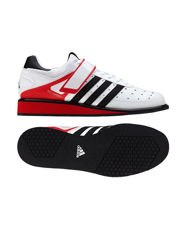 adidas Power Perfect 2 Gewichtheber Schuhe weiß/rot/schwarz G17563 UK8