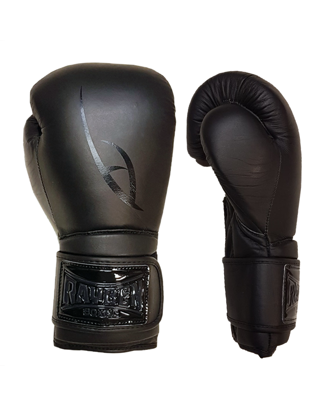 RAYBEN Black Mamba Boxhandschuhe Leder black schwarz