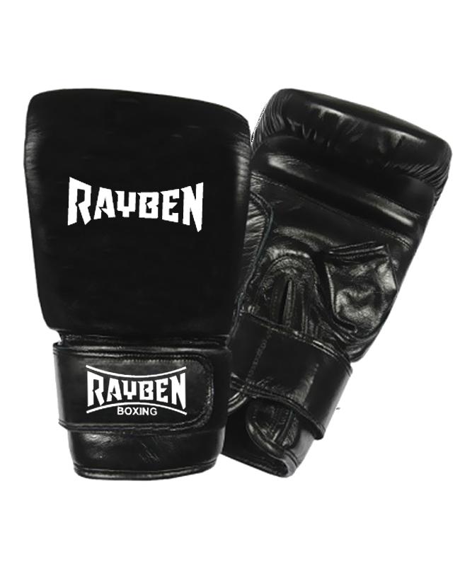 RAYBEN Boxsack Handschuhe size M schwarz Leder M