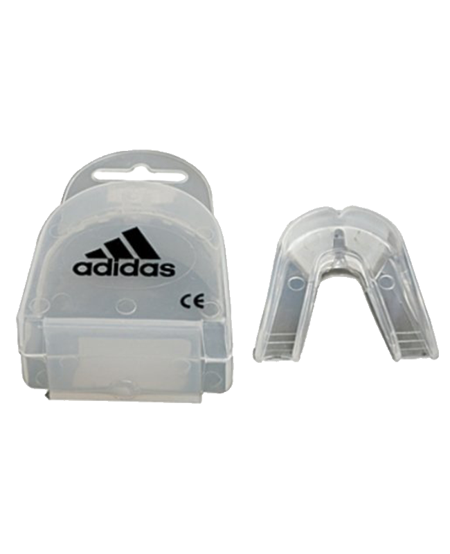 adidas Zahnschutz Senior DOUBLE CE transparent individuell anpassbar adibp10