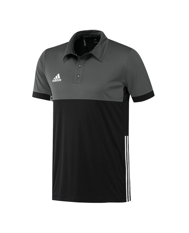 adidas T16 Climacool Polo Shirt Men schwarz/grau AJ5481 XL