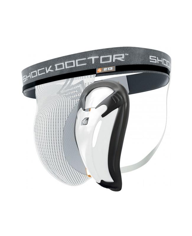 Shock Doctor Core Supporter mit Bioflex Schale Gr.M weiß M