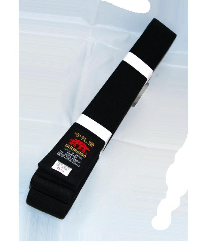 SHUREIDO Dan-Gurt 305 (5 1/2) Cotton schwarz 305 cm