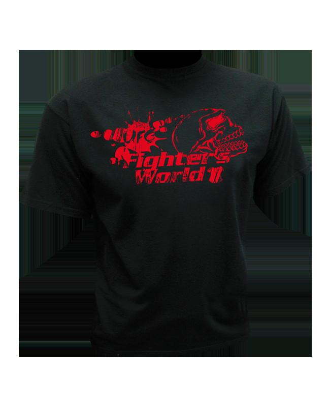 FW MMA T-Shirt SKULL schwarz the Ultimat Fighting Gear S