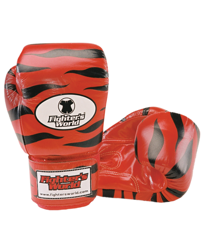 Original FIGHTERSWORLD TIGERGLOVE®, Velcro rot
