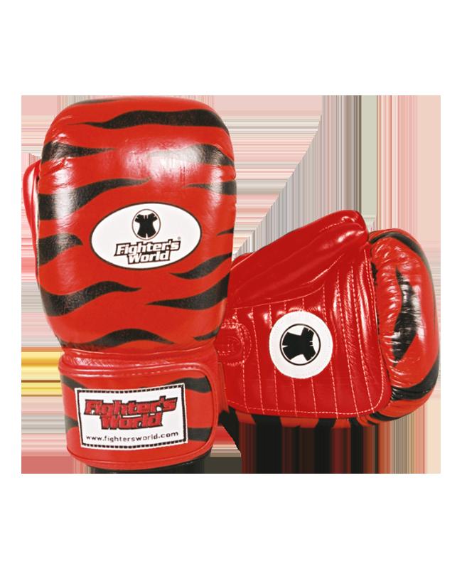 Original FIGHTERSWORLD TIGERGLOVE®, Trainer-Handschuhe, Leder