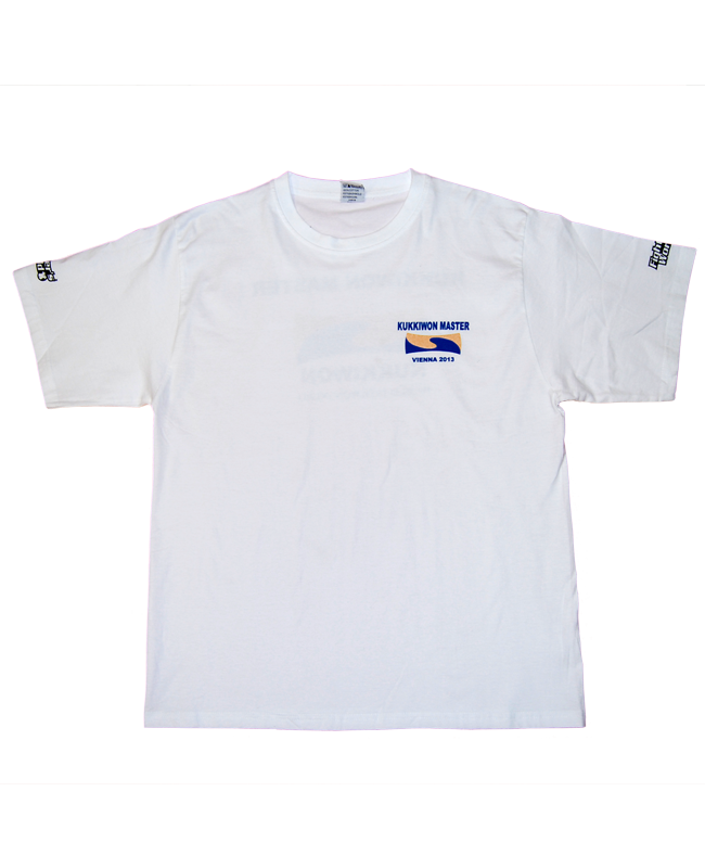 FW TAEKWONDO T-Shirt Kukkiwon L weiss L