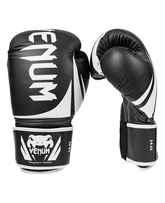"""Venum """"Challenger 2.0"""" Boxhandschuhe schwarz/weiß 0661"""