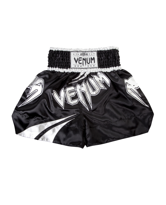"Venum Muay Thai Short ""Channah"" schwarz/silber"