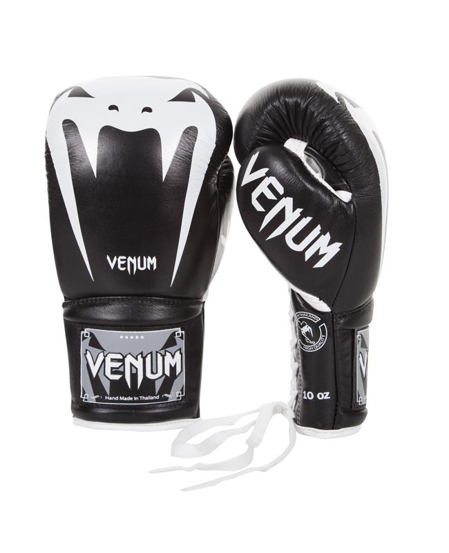 Venum Giant 3.0 Boxhandschuhe schwarz mit Schnur 02729-001