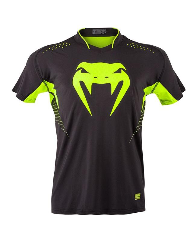 VENUM T-Shirt Hurricane X Fit schwarz/neon gelb 0970