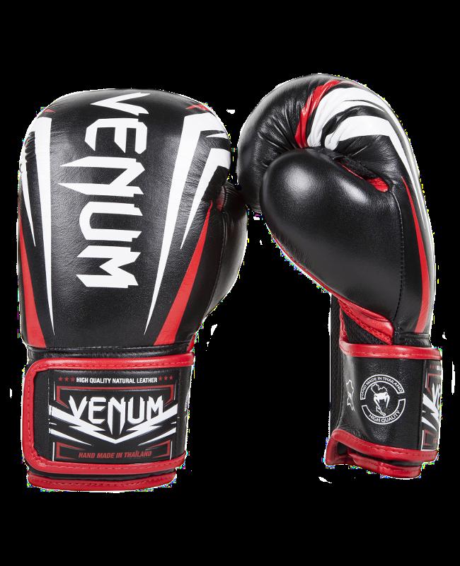 Venum SHARP Boxhandschuhe ice/schwarz/rot 1198