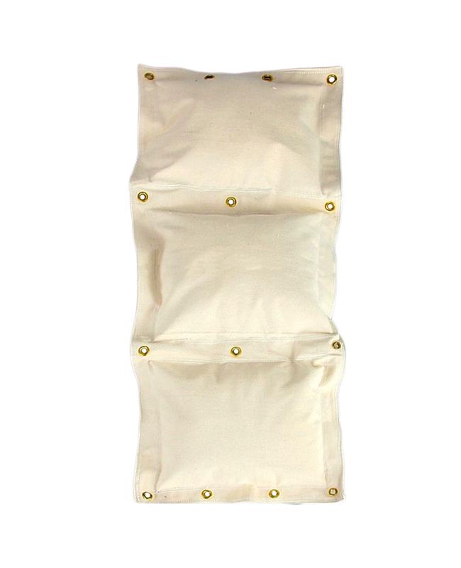 Wandschlagsack 3 Segmente ca. 45x115cm (unbefüllt) weiß
