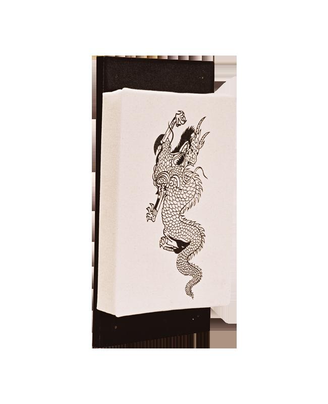 Wandmakiwara Dragon , Canvas 40 x20 cm