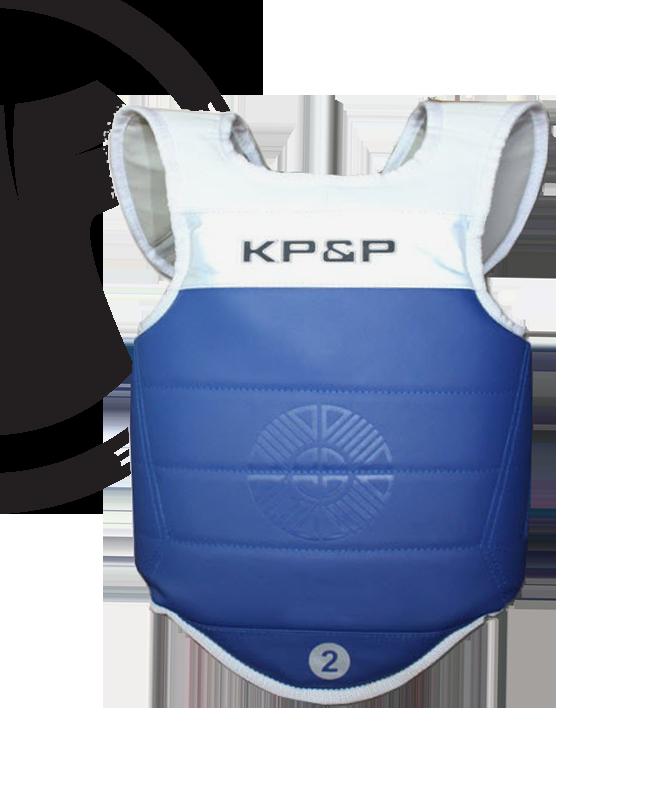 KP&P adidas elektronische Schutzweste Gr. M blau EBP M
