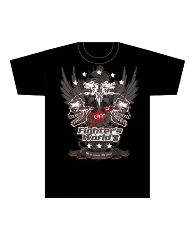 FW MMA T-Shirt WINGS schwarz the Ultimat Fighting Gear S