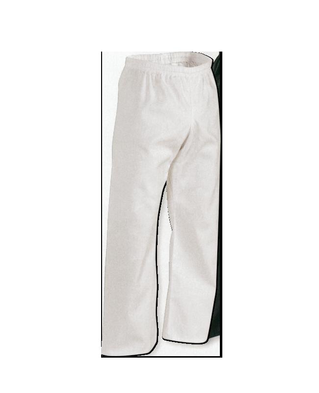 Woman Pants, Baumwoll - Einzelhose, weiss Gr. L L