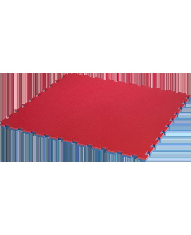 ProGame TKD Wettkampfmatte WT APPROVED rot/blau 0,8x0,8m x22mm