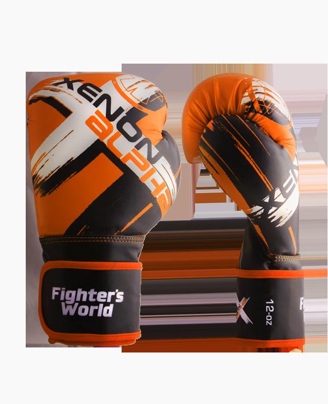 FW XENON ALPHA Boxhandschuhe oz orange/black
