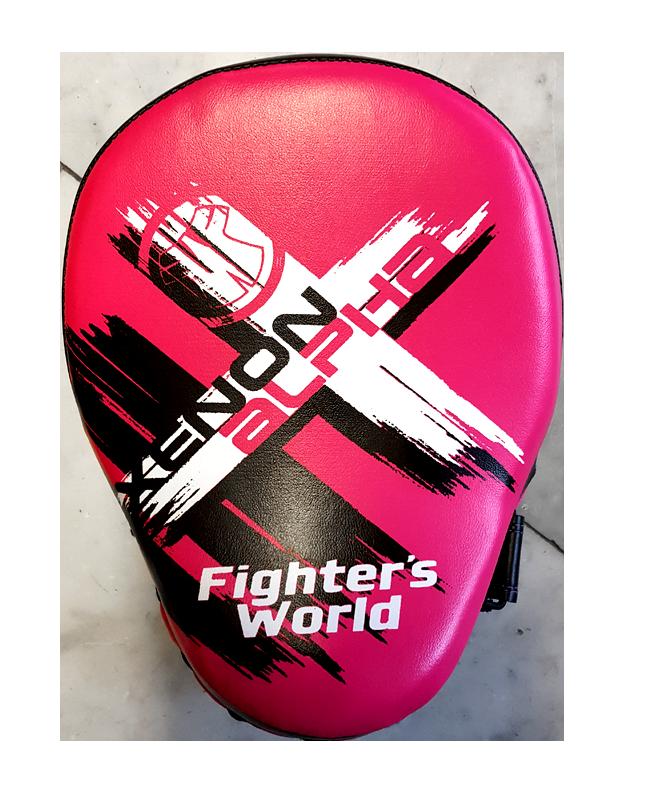 Fighter`s World XENON ALPHA Handpratze Focus Mitt rose/black 1Paar