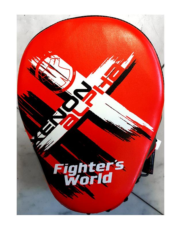Fighter`s World XENON ALPHA Handpratze Focus Mitt red/black 1Paar