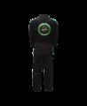 Fighter`s World PYTHON Brazilian Jiu Jitsu Anzug A2 schwarz/grün (Bild-2)