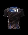 Rayben Zero Rashguard Kurzarm schwarz/blau (Bild-2)