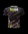 Rayben Zero Rashguard Kurzarm schwarz/grün (Bild-2)
