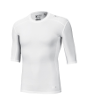 adidas Compression Shirt TECHFIT Base SS Kurzarm weiss XL AJ4967 (Bild-2)