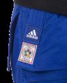 adidas Champion 2 II IJF - Slim Fit, Judo Anzug blau (Bild-2)